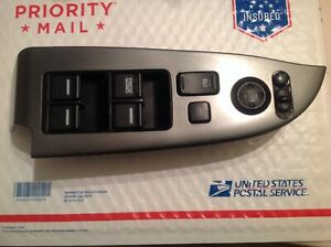 2005 2009 Honda Odyssey Driver Door Master Power Window Switch Silver Tested