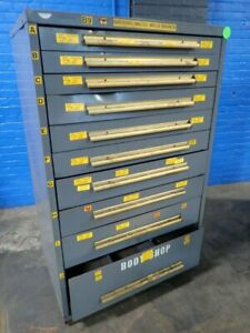 Equipto Tool Cabinet 10 Drawers 04181260957