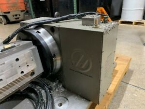 Used Haas Hrt 310 Brushess Sigma 1 Rotary Table Indexer 4th Axis
