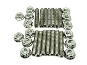 290 340 343 360 390 Fits Amc Jeep Valve Cover Stud Kit Bolts Stainless Steel