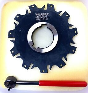 Valenite Indexable Slotting Cutter V350a1250d11 W wrench New In Box