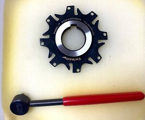 Valenite Indexable Slotting Cutter V350a0830b08 W wrench New In Box