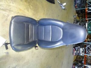 02 Porsche Boxster 986 Front Right Passenger Seat Leather Black