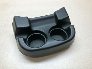 00 05 Ford F250 F350 Front Floor Center Console Front Cup Holder Black F 250