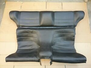 Porsche 944 Turbo 944s2 968 Rear Seats In Black Original