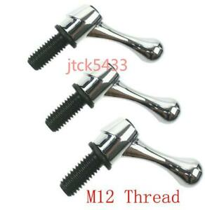 3pcs Bridgeport Part Head Milling Machine Table Lock Bolt Handle M12 Thread New