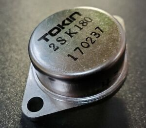 unused Tokin 2sk180 Sit Fet Power Static Induction Transistor