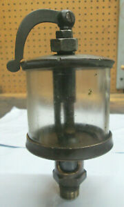 Brass Swing Top Oiler For Hit And Miss Engine michigan Lubricator Co model X134