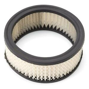 Edelbrock 1219 Air Cleaner Element Air Filter Round 2in X 6in