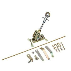 Speedway Lokar 6 In Straight Muscle Shifter Th350 Th400 Brite