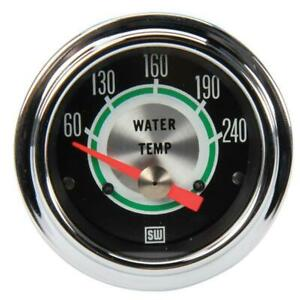 Stewart Warner 311cc 2 1 16 Green Line Elect Water Temperature Gauge