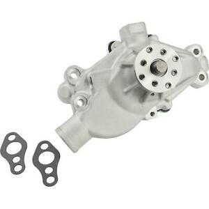 Speedway Small Block Chevy Short Aluminum Water Pump Plain