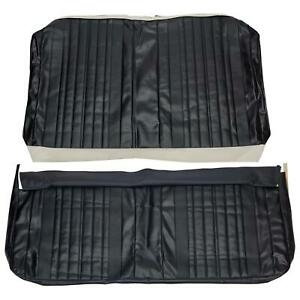 Pui 70as10c Vinyl Rear Seat Cover Upholstery 70 Chevy Chevelle Coupe Black