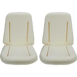 Reproduction Seat Foam For Bucket Seats Nova chevelle impala Pair