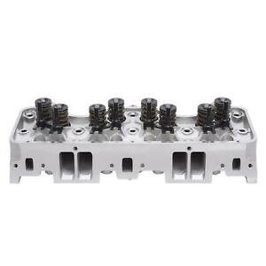 Edelbrock 60815 Performer Rpm Cylinder Head 220 Cc Chevy 348 409
