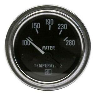 Stewart Warner 82307 2 1 16 Inch Deluxe Electric Water Temp Gauge