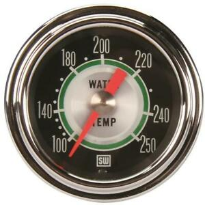 Stewart Warner 361at72 Green Line Mech Water Temp Gauge 2 1 16 Inch