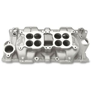 Edelbrock 5425 Small Block Chevy Dual Quad Intake Manifold