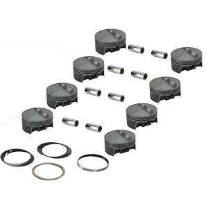 Mahle 930200660 Forged Flat Top Pistons 4 060 Bore Sbc