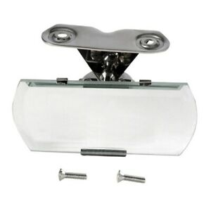 Speedway 1932 36 Ford Closed Car Inside Rearview Mirror Stainless Steel