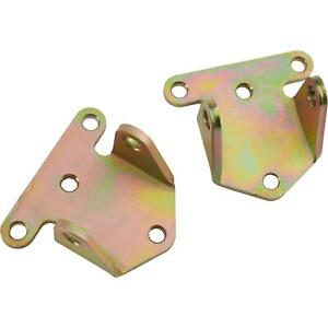 Pair Of Chevy Small Big Block Sbc Bbc 350 454 Solid Steel Racing Motor Mounts