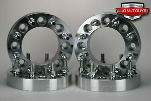 4pc 2 8x170 To 8x6 5 Wheel Adapters Spacers Ford Superduty To Chevy 8 Lug