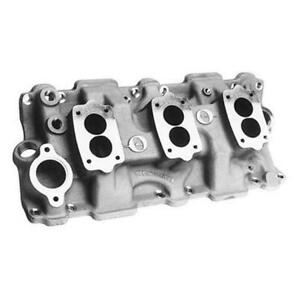Offenhauser 1955 1986 Small Block Chevy Three Deuce Intake Manifold