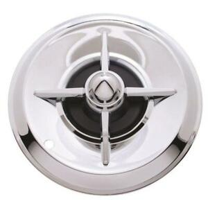 1957 Lancer 14 Inch Chrome Hubcaps Set Of 4