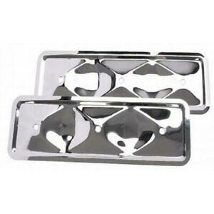 Chevy 194 230 250 Inline Straight 6 Cylinder Chrome Plated Side Covers