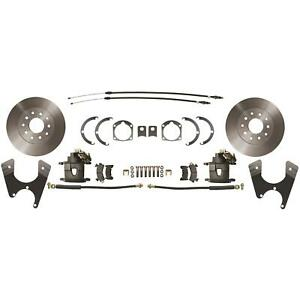 Speedway 1955 64 Full size Chevy Rear Disc Brake Conversion Kit