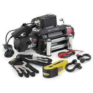 Smittybilt 97495p Xrc 9 500 Lb Winch And Recovery Pack Kit