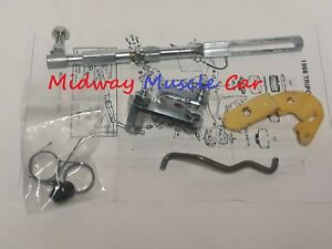 Tri Power 3x2 Carburetor Carb Throttle Cable Linkage Set 66 Pontiac Gto G p