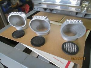 Stromberg 97 Carb Air Filter Vintage Gasser Style 50 s Munro Satin Nice Blower