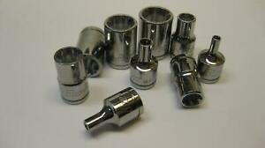 Blue Point Tools 3 8 Drive Inverted Torx Star Sockets Sold Each Nice