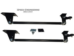 Silverado Sierra Traction Bars 1999 18 axle Flipped Trucks Satin Black
