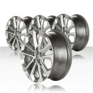 Revolve 18x8 Machined And Gray Wheel For 2013 2015 Honda Accord Set Of 4