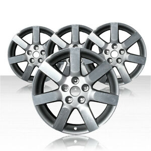 Revolve 17x7 Silver Wheel For 2004 2006 Nissan Maxima Set Of 4