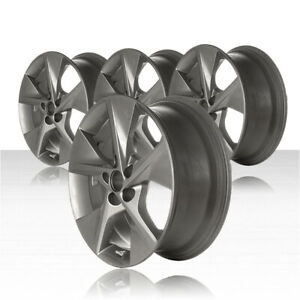 Revolve 18x7 5 Medium Charcoal Wheel For 2012 2014 Toyota Camry Set Of 4