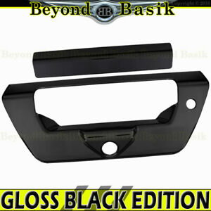 2018 2019 2020 Ford F150 Gloss Black Tailgate Handle Cover Overlay W ch lsh
