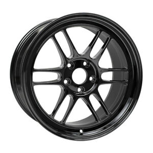 Enkei Rpf1 18x9 5 38 5x114 3 Gloss Black set Of 4 3798956538gb