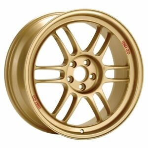 Enkei Rpf1 17x9 35 5x114 3 Gold set Of 4 3797906535gg