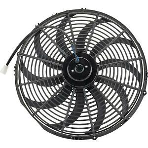 Speedway Universal Electric Radiator Cooling Fan 16 Inch