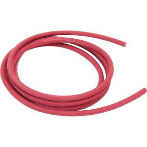 Red Welding Cable Battery Cable 10 Foot 2ga