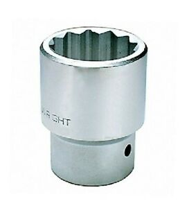 Wright Tool Socket 55mm 3 4 Drive 12 Point Metric Chrome Usa 61 55mm
