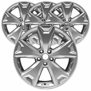 17 Silver Rim By Jte For 2014 2016 Subaru Forester 17x7 set Of 4
