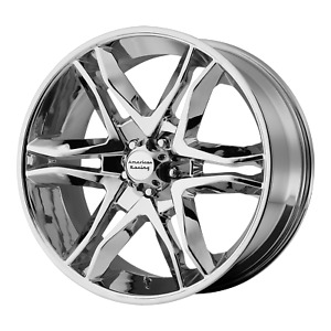 For American Racing Mainline Chrome 20x8 5 Rim Chevy Gm Toyota 6x5 5 15 Off Ea