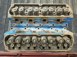 Cylinder Heads Ford 5 8l 351 Windsor 351w E7te For Rebuild