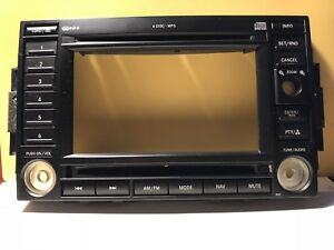 05 07 Chrysler Dodge Jeep Rec Navigation Radio Stereo Faceplate Bezel Used