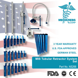Mis Tubular Retractor System Set Surgical Instruments Or Grade