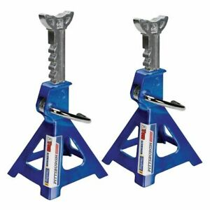 Jack Stands Aluminum Racing 3 Ton 6 000 Lb Pair 2 Heavy Duty Car Truck Suv